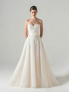 I like the bodice. Prefer a more sheath-like bottom. 23 Wedding Dresses Fit for a Right-Now Princess