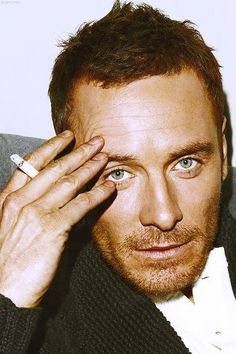 Michael Fassbender is so gorge. If he got rid of the cig, he'd be even hotter if that's possible!