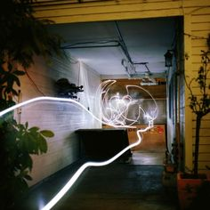 LIA HALLLORAN'S PHOTOGRAPHIC LINE DRAWINGS CREATED BY SKATEBOARDING WITH LIGHT