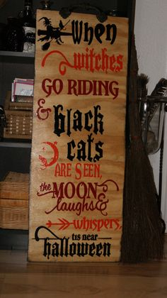 when witches go riding~