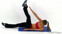 Another name for this workout is a waist training. When you try them once, you'll really include them in your routine immediately. These exercises are really effective and you'll not find any other that will make you gain the best results. 7 Day Workout, Flat Tummy Workout, Abs Workout For Women, Belly Fat Workout, Workout Videos, Flatten Belly, Workout Bauch, Flat Stomach, Nice Stomach