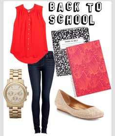 Cute back to school outfit!