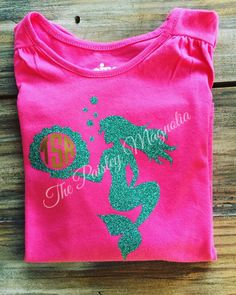 Mermaid Monogram Decal By Shaelaraedesigns On Etsy Vinyl - Glitter custom vinyl decals for shirts
