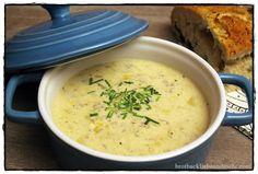 Käse-Lauch-Suppe brotbackliebeundmehr Foodblog