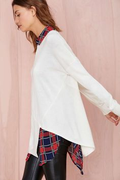 Off Kilter Sweater | Shop Shop All at Nasty Gal