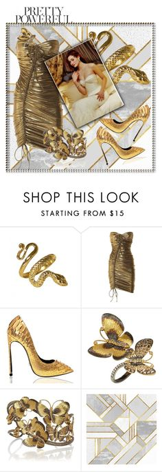 """""""Pretty powerful"""" by julyralewis ❤ liked on Polyvore featuring Lanvin and Annoushka"""