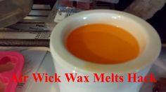 Air Wick Wax Melts Hack! Wax Melts, Wicked, Hacks, Breakfast, Youtube, Desserts, Food, Morning Coffee, Meal