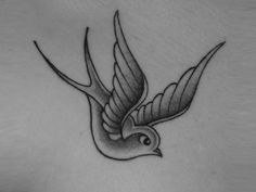 Silver swallow tattoo Wallpaper