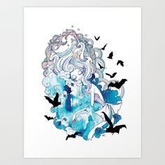 Seven Deadly Sins 'Sloth' Art Print by Gina Martynova Sloth Deadly Sin, Seven Deadly Sins, 7 Sins, It Goes On, New Art, Character Design, Main Character, Character Outfits, Cool Art