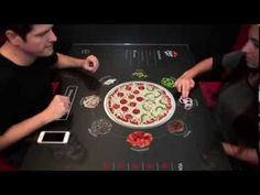 Pizza Hut + Chaotic Moon Studios Interactive Concept Table - YouTube