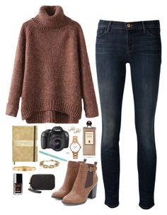 """""""Photography fun"""" by classycathleen ❤ liked on Polyvore featuring Chicnova Fashion, J Brand, Serge Lutens, Canon, Kate Spade, Tiffany & Co., J.Crew, Cartier, Chanel and Tory Burch"""
