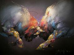 Braca Djurkovic - Painter - Official Website - Oil on Canvas Bull Painting, Painting & Drawing, Vida Animal, Art Graphique, Wildlife Art, Horse Art, Animal Paintings, Oeuvre D'art, Painting Inspiration
