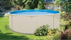 La piscine hors-sol en acier : la plus durable !