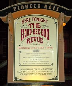 I would consider it a difficult task for anyone to say that he or she is a Disney neurotic without having seen the Hoop-Dee-Doo Musical Revue at Disney's Fort Wilderness Resort. Thinking bac...