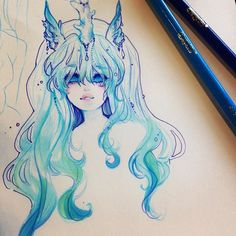 Idea for an aquatic unicorn