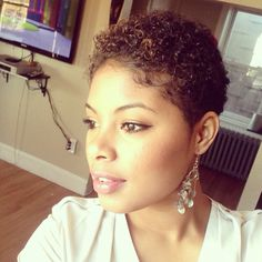 Natural You are in the right place about big chop hairstyles natural Here we offer you the most beau Natural Hair Short Cuts, Short Natural Haircuts, Tapered Natural Hair, Short Sassy Hair, Natural Hair Tips, Short Hair Cuts, Pixie Cuts, Short Pixie, Natural Curls