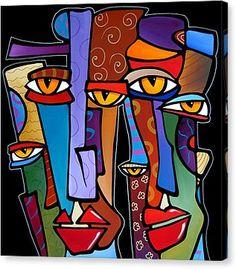 Design Stars By Fidostudio Canvas Print by Tom Fedro - Fidostudio