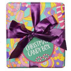 Christmas Candy Box Wrapped Gift LUSH Christmas 2017 includes Luxury Lush Pod Bath Bomb, Candy Mountain Bubble Bar, My Two Front Teeth Bubble Bar and Snow Fairy Shower Gel Lush Christmas, Christmas 2017, Christmas Candy, Holiday Gift Guide, Holiday Gifts, Unique Gifts, Best Gifts, Handmade Gifts, Lush Fresh