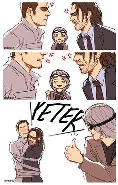 cherik, charles, and erik image I love you Peter