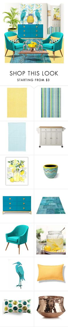 """""""The Room"""" by bb60477 ❤ liked on Polyvore featuring interior, interiors, interior design, home, home decor, interior decorating, Crosley, Grandin Road, Illume and Green Leaf Art"""
