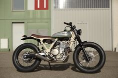 Moto-Mucci: DAILY INSPIRATION: Cafe Racer Dreams #25 Honda Dominator