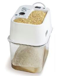 KTEC Kitchen Mill - Grain and Flour Mill (K-Tec) by Blendtec We grind Prairie Gold Wheat with this. Good grain and good grinder make for wonderfully light, healthy flour. It's very loud, but works better than the WhisperMill. Make Your Own Flour, Flour Mill, Emergency Preparedness, Survival Food, Survival Tips, Preserving Food, The Ranch, Raw Food Recipes, Gf Recipes