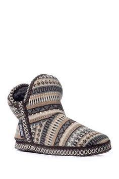 dc13c17b37e Pattern Amira Faux Fur Lined Slipper Boot Slipper Boots