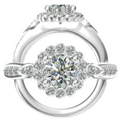See the Superior Craftsmanship and Transfixing Design of this Heritage Collection Semi mount Diamond Engagement Ring with Gorgeous Scalloped Edges.
