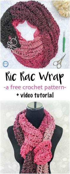 Free Crochet Patternlato Infinity Scarf Pinterest Quick