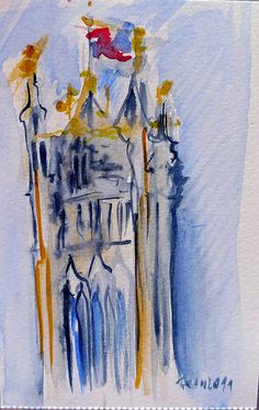 London Urban Sketchers, London Calling, My Works, Sketches, My Love, Painting, Art, Drawings, Painting Art