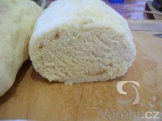 Jednoduchý hrníčkový recept na kynuté houskové knedlíky. Dairy, Bread, Cheese, Recipes, Food, Gnocchi, Brot, Recipies, Essen