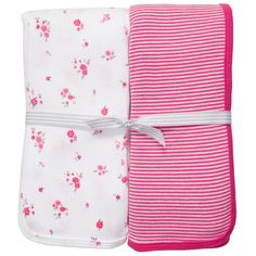 2-Pack Swaddle Blankets | Baby Girl Baby Essentials