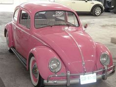 Image shared by Martha. Find images and videos about pink on We Heart It - the app to get lost in what you love. Volkswagen, Vw Bus, Pink Love, Pretty In Pink, My Dream Car, Dream Cars, Schrift Tattoos, Kombi Home, Cute Cars