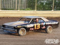 In this article CIRCLE TRACK takes a look at Tennessee racer Steve Tucker's one of a kind dirt Street Stock race car, which was built out of a trashed 1967 Chevy Chevelle and turned into a Smokey Yunick tribute car - Circle Track Magazine Dirt Racing, Auto Racing, 1967 Chevy Chevelle, Speedway Racing, Street Stock, Old Race Cars, Sprint Cars, Weird Cars, Nascar