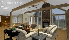 Comfortable, midsize open floor plan MS-2283-ACC, great for downsizing