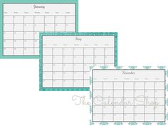 Printable Calendar Yearly Calendar Printable Calendar
