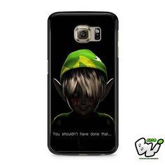 Zelda Spooky Scary Thread Samsung Galaxy S7 Case