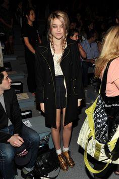 Sky Ferreira Photos - Proenza Schouler - Front Row - Fall 2012 Mercedes-Benz Fashion Week - Zimbio