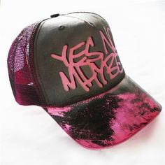 4808b613b00 Product details for  Scrawl  Cap by Yes No Maybe