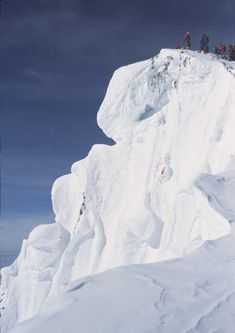 The summit of Mount Everest (8850m; 29.035ft) seen from the Northeast Ridge, in Tibet
