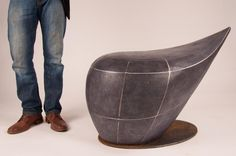 Vivian Beer has designed a collection of sculptural benches named the Infrastructure Series.