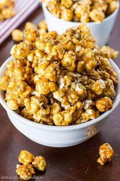 A recipe for Oven Baked Caramel Corn. This delicious and easy to make caramel corn is the perfect snack recipe.