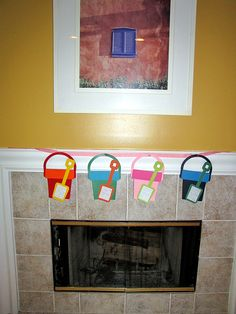 Instead of stockings for the kids....bucket lists of things to do!  cometogetherkids.com