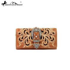 Montana West Buckle Collection Wallet (MW198-W002) – Handbag-Addict.com