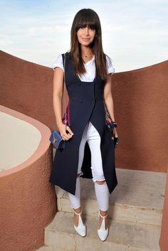 Miroslava Duma front row at Dior Resort 2016. [Photo by Stéphane Feugère]