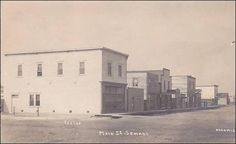 RPPC - Main Street , SEMANS , Saskatchewan , Canada , 00-10s Item# SCVIEW181393 (180718316)