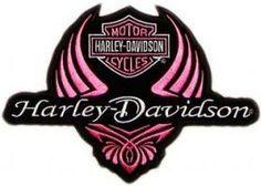 Harley Davidson ladies logo machine embroidery design. Machine embroidery design. www.embroideres.com