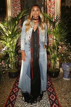 Roberto Cavalli Spring 2017 Ready-to-Wear Front Row Celebrity Photos - Vogue