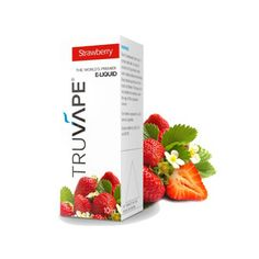 Strawberry TRUVAPE 10 ml www.vapeon.eu #vapeon Vape, Strawberry, Fruit, Food, Self, Smoke, Electronic Cigarette, Essen, Vaping