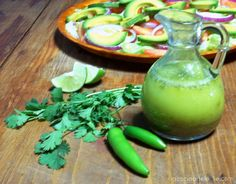 lime-cilantro vinagreta